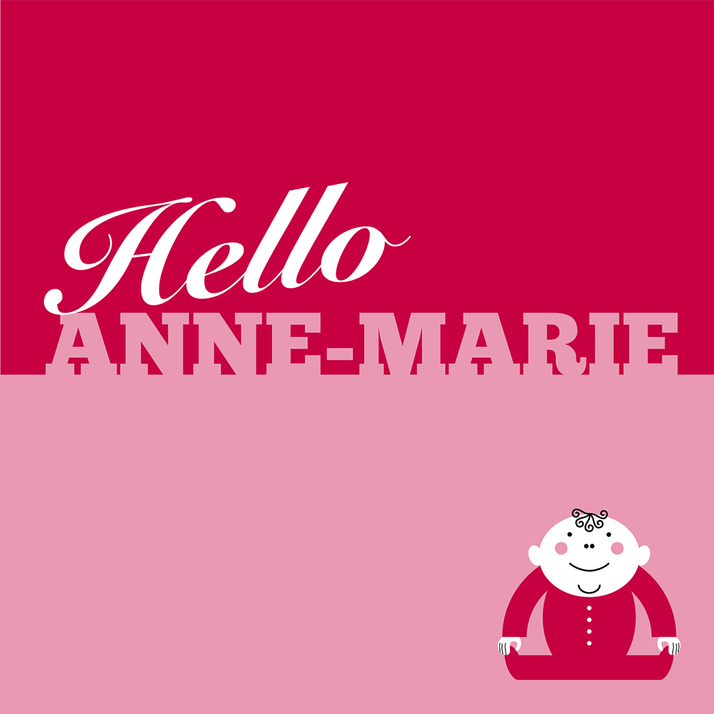 Hello Anne_Marie Card