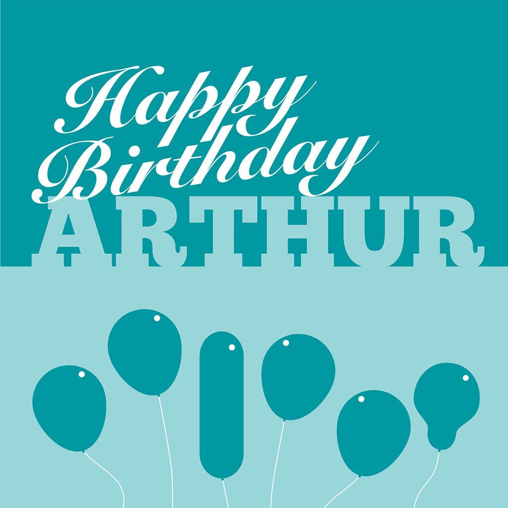 Happy Birthday Arthur Card