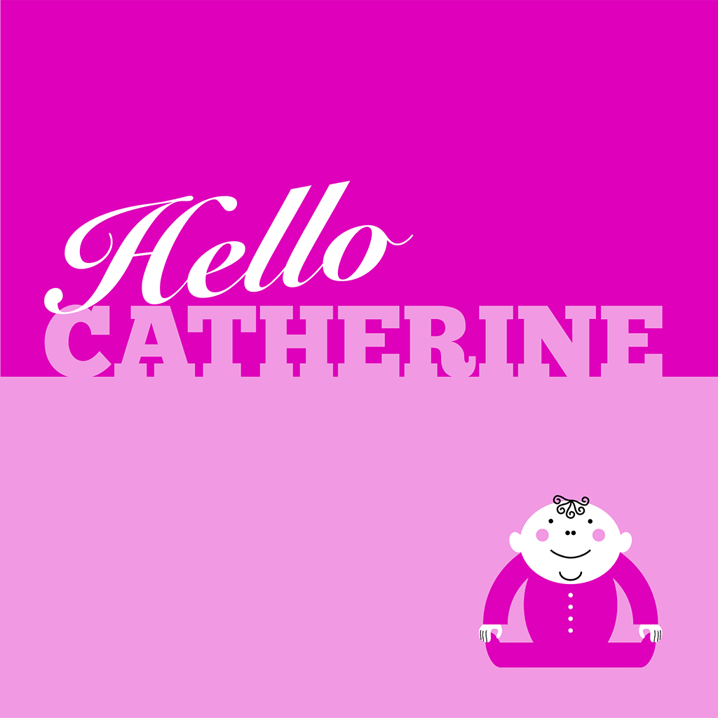 Hello Catherine Card
