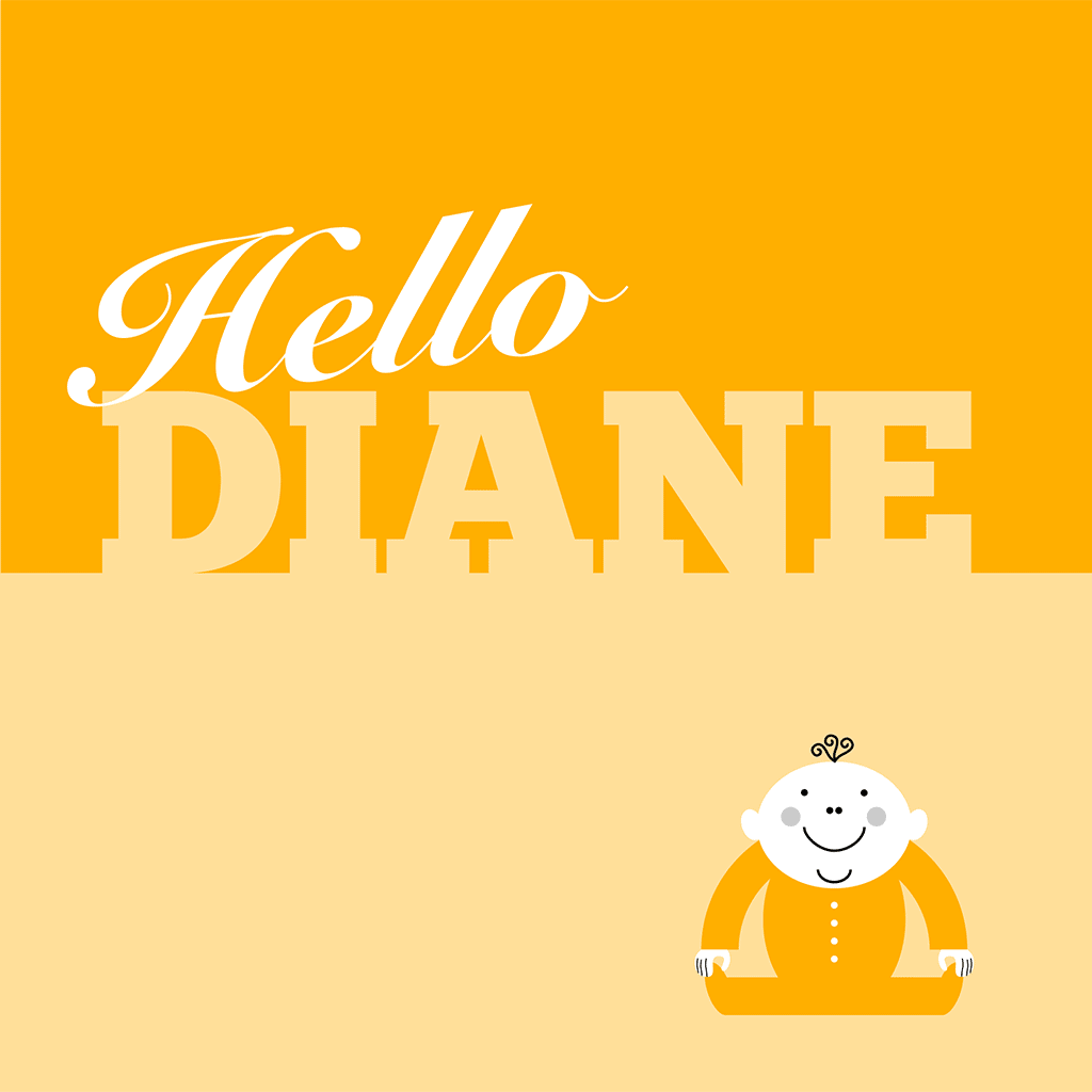 Hello Diane Card