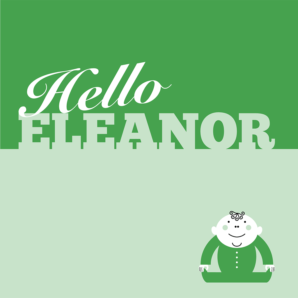Hello Eleanor Card