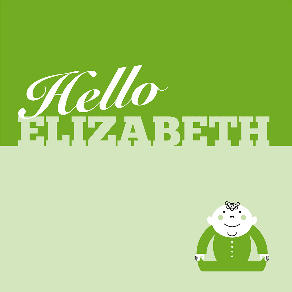 Hello Elizabeth Card