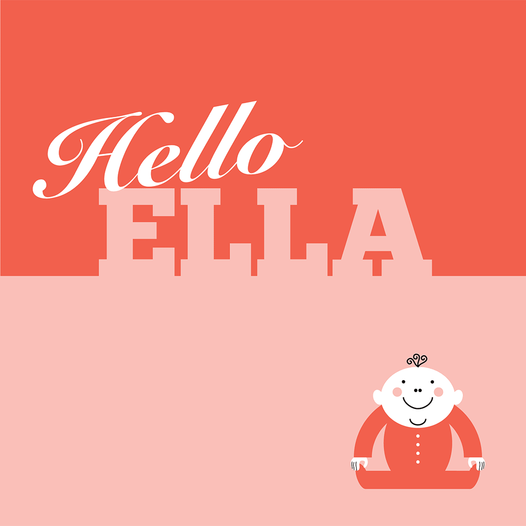 Hello Ella Card