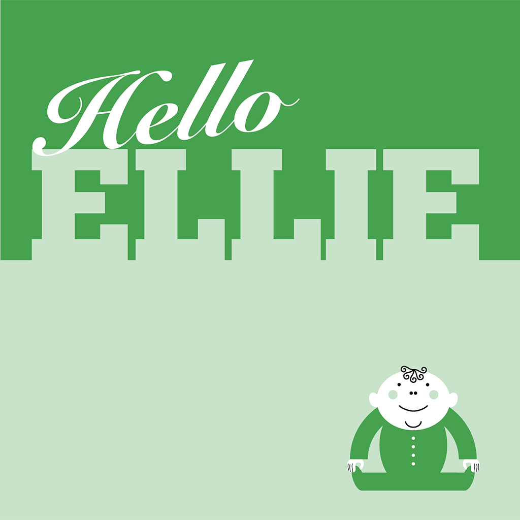 Hello Ellie Card