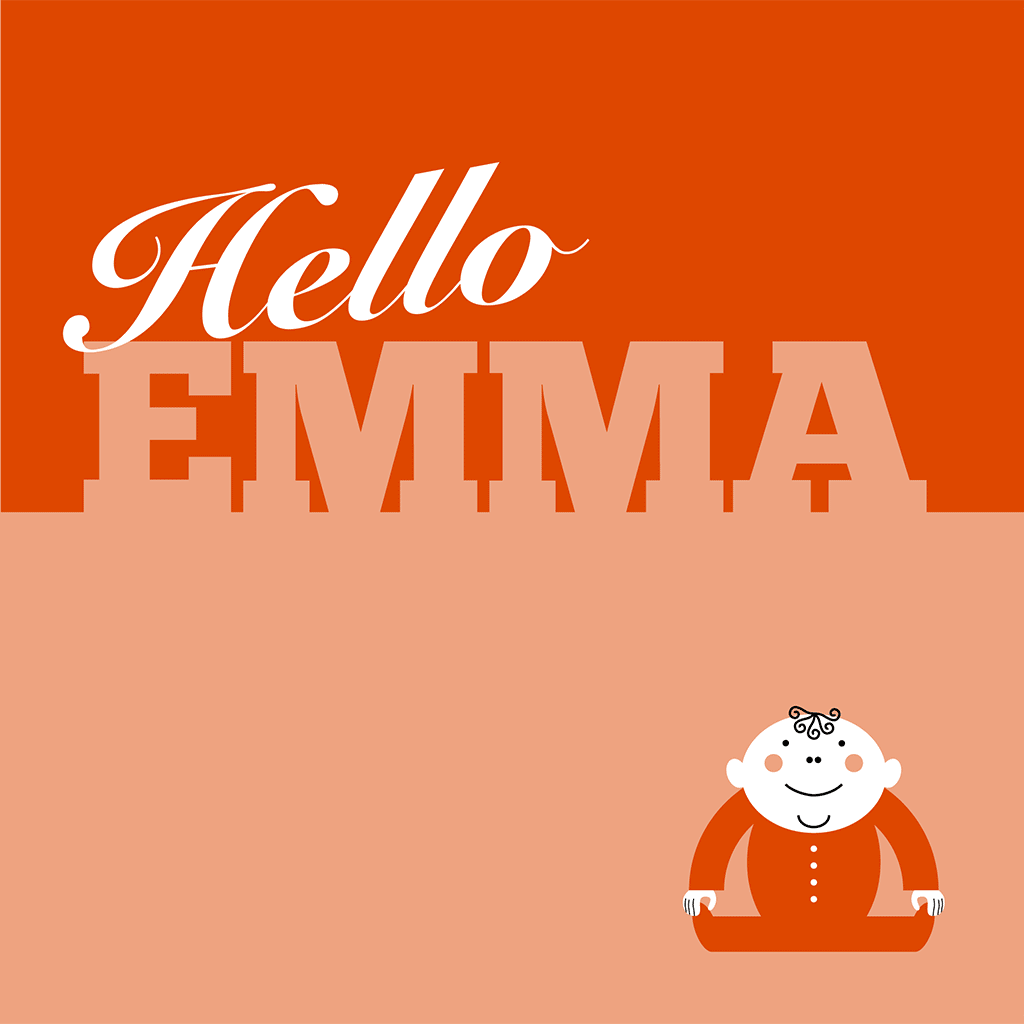 Hello Emma Card