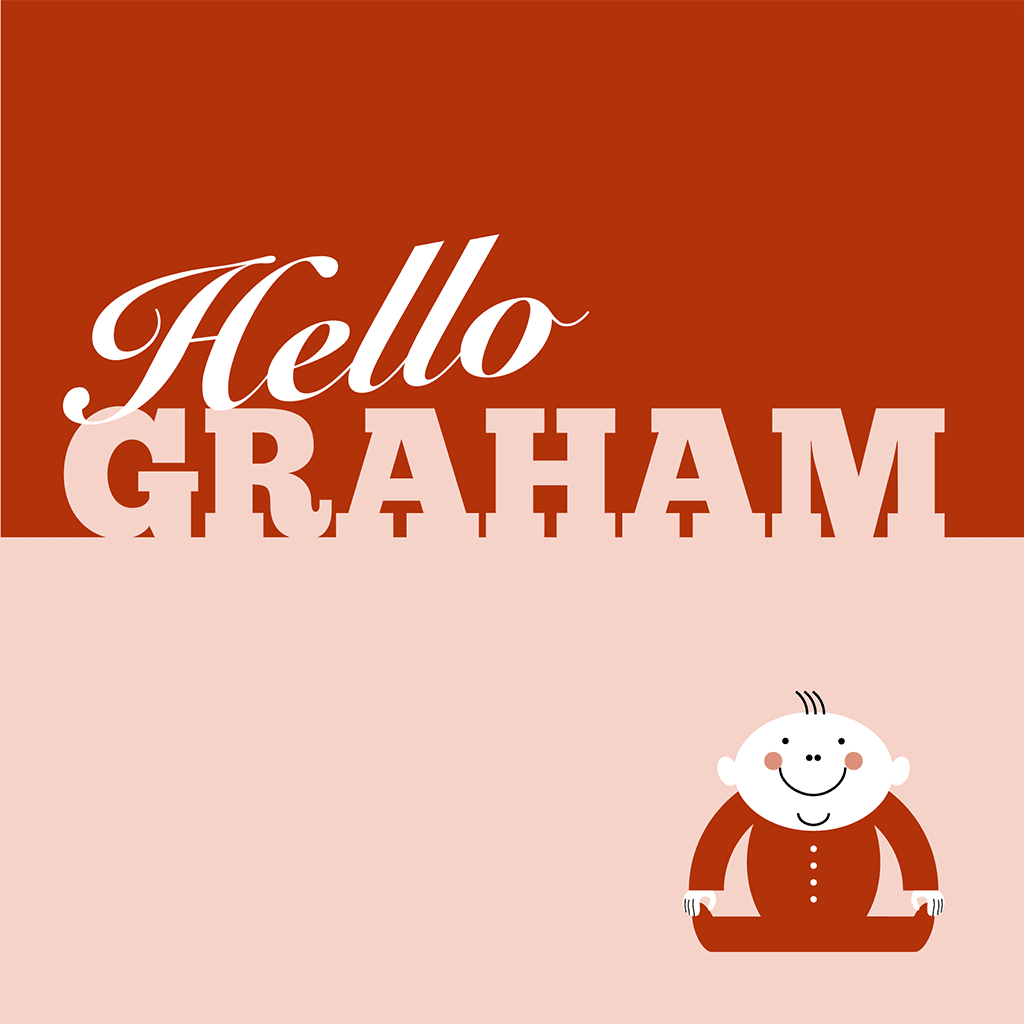 Hello Graham Card