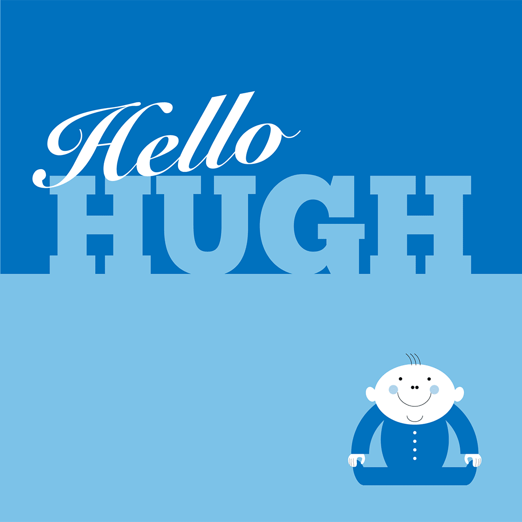 Hello Hugh Card