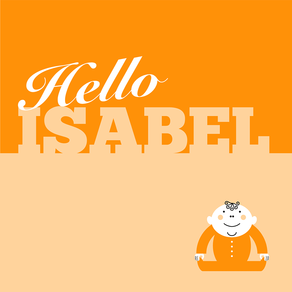 Hello Isabel Card