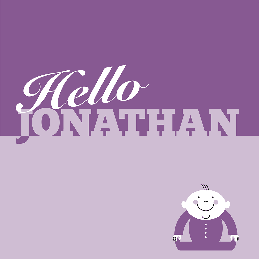 Hello Jonathan Card