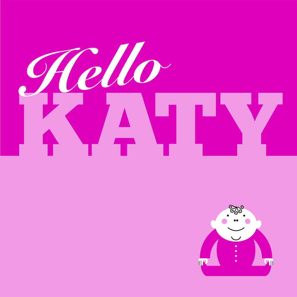 Hello Katy Card