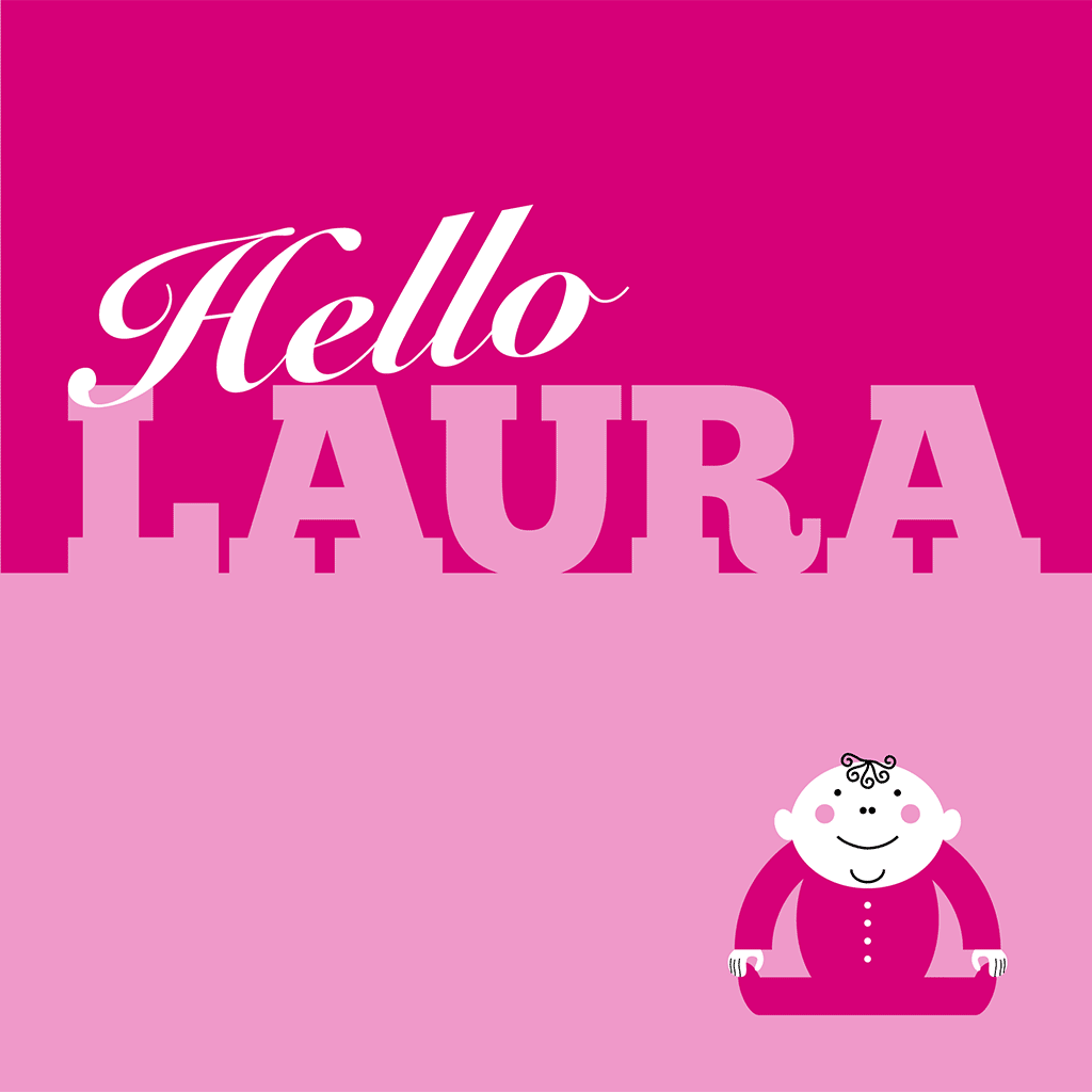 Hello Laura Card