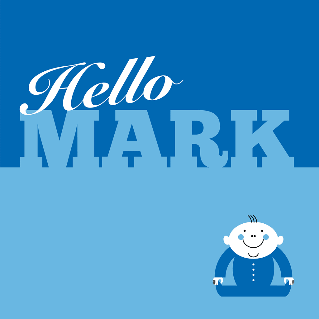 Hello Mark Card