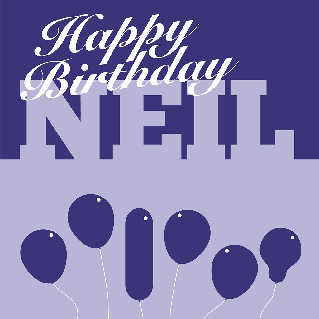 Happy Birthday Neil Card