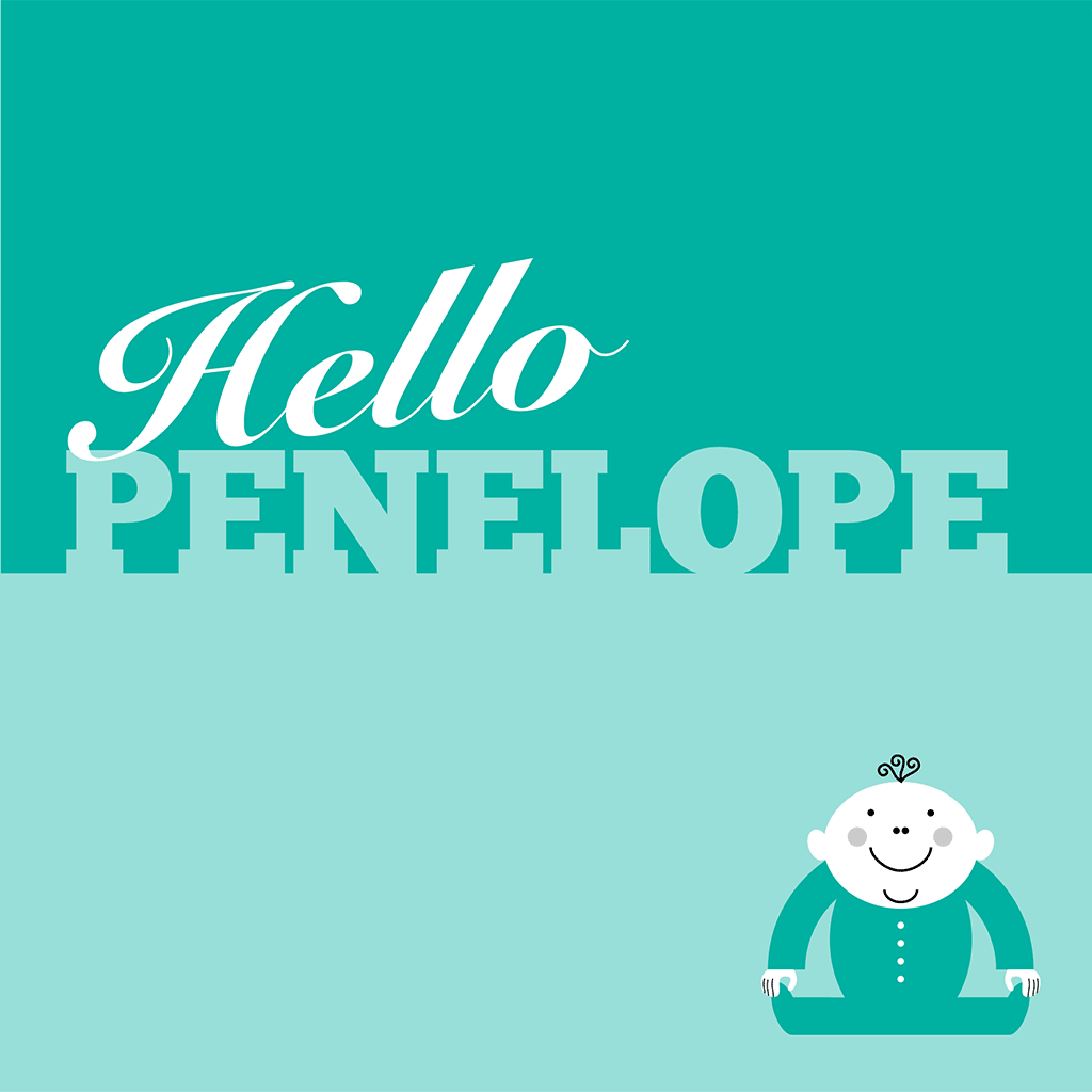 Hello Penelope Card