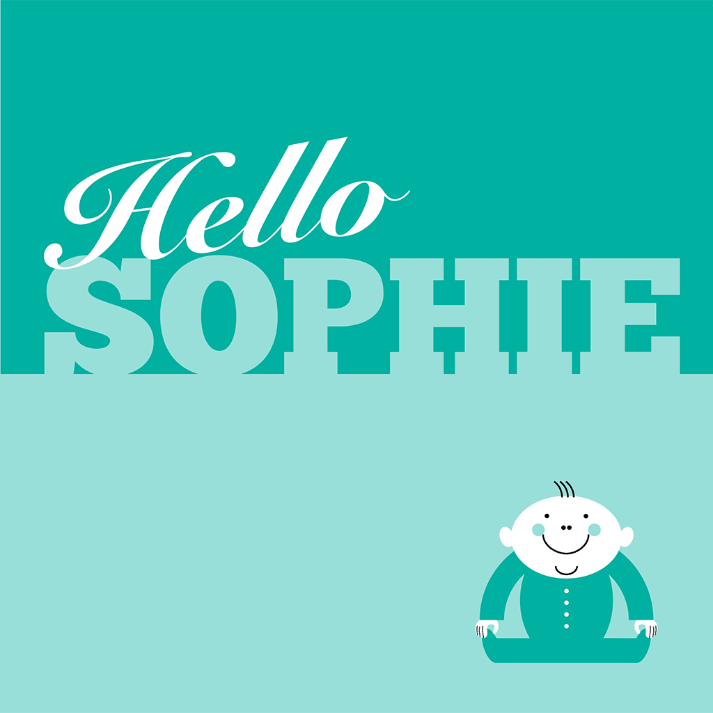 Hello Sophie Card