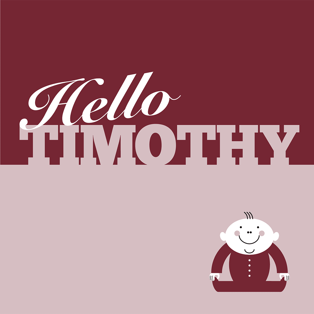 Hello Timothy Card