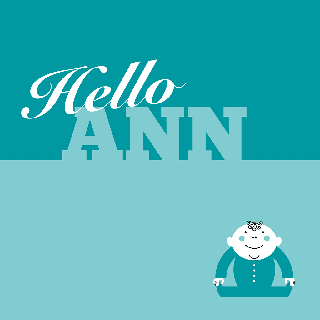 Hello Ann Card