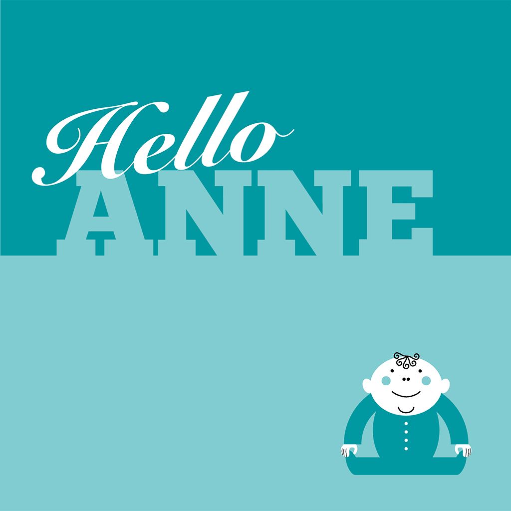 Hello Anne Card