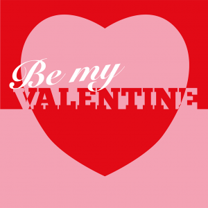 Be My Valentine Card Front